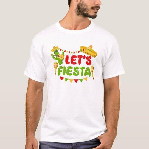 Lets Fiesta T_Shirt