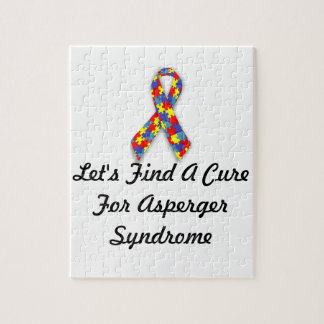 Let's Find A Cure For Asperger Syndrome Puzzle