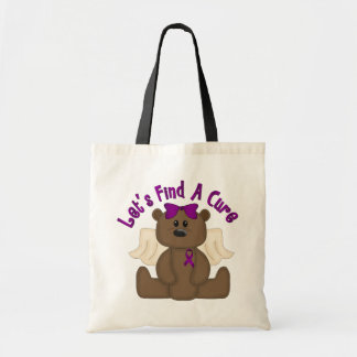 Let's Find The Cure Bear Tote Bag