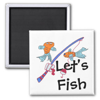 Let's Fish Magnet