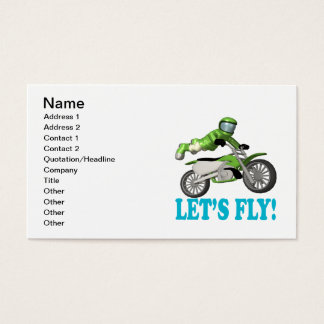 Lets Fly 2 Business Card