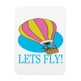 Lets Fly 2 Rectangular Photo Magnet