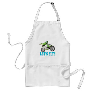 Lets Fly Adult Apron