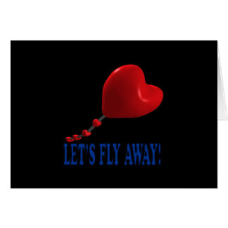 Lets Fly Away 3 Card