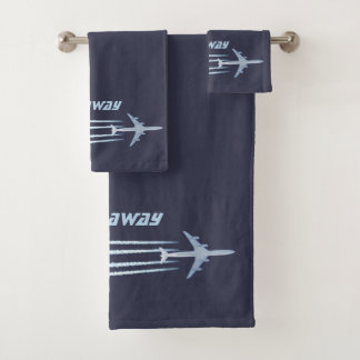 Let's Fly Away Bath Towel Set