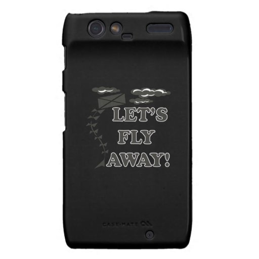 Lets Fly Away Motorola Droid RAZR Covers