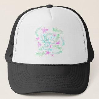 Lets fly away trucker hat
