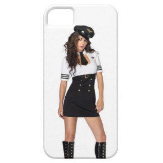 Lets Fly Captain-Pilot Girl iPhone SE/5/5s Case