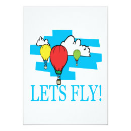 Lets Fly Card