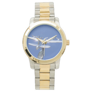 """Let's fly, let's fly away!"" Wristwatch"