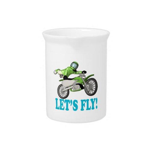 Lets Fly Beverage Pitchers