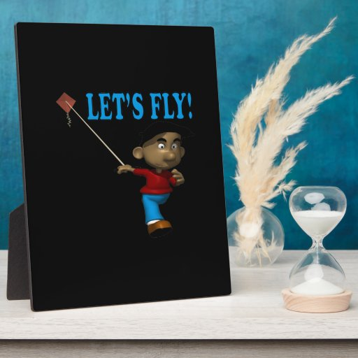 Lets Fly Plaque