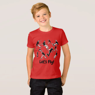 Let's Fly! - Stunt Scooter Fun T-Shirt