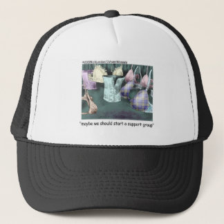 Lets Form A Support Group Funny Gifts & Tees Trucker Hat