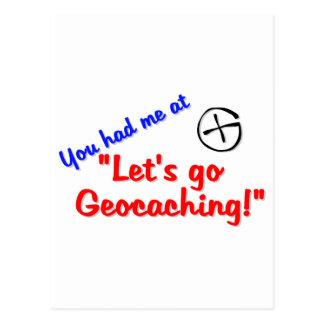 Let's Geocache Postcard