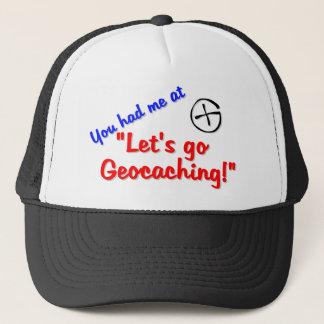Let's Geocache Trucker Hat