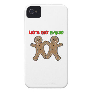 LET'S GET BAKED -.png iPhone 4 Covers