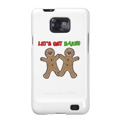 LET'S GET BAKED -.png Galaxy S2 Covers