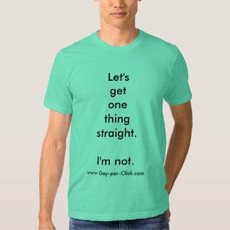 """""""Let's get . . . """" by Gay-per-Click.com Tee Shirt"""