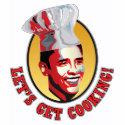 Let's Get Cooking - Barack Obama P... - Customized shirt