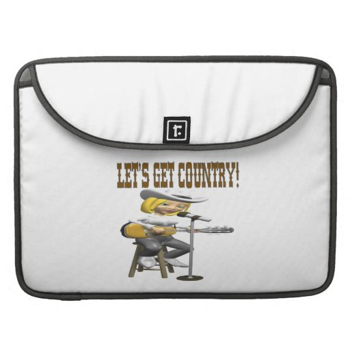 Lets Get Country 2 Sleeves For MacBooks