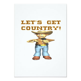 Lets Get Country Card