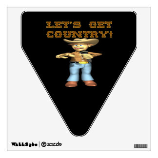 Lets Get Country Wall Skins