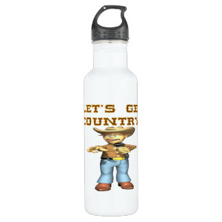 Lets Get Country Water Bottle