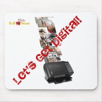 Let's Get Digital! Mousepad