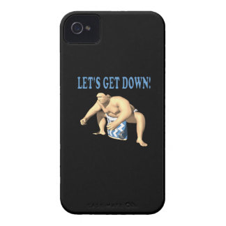Lets Get Down iPhone 4 Case