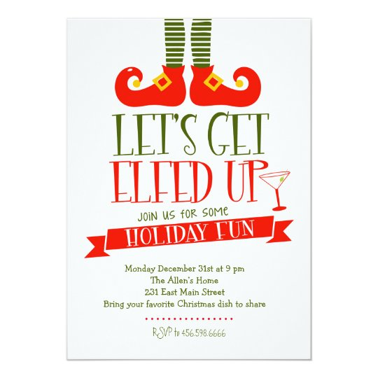 Christmas Party Invitations – Invitation to a Christmas Party