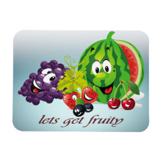 Lets get fruity Premium Magnet