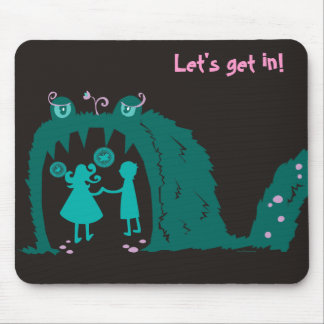Let's get in! mouse pad