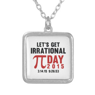 Let's Get Irrational Personalized Necklace