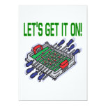 Lets Get It On 5x7 Paper Invitation Card