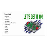 Lets Get It On Double-Sided Standard Business Cards (Pack Of 100)