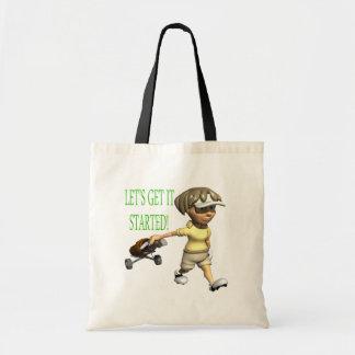 Lets Get It Started Tote Bag