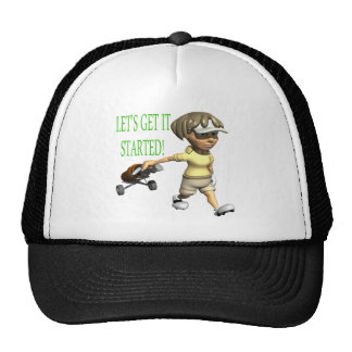 Lets Get It Started Trucker Hat