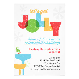 Let's Get Jolly Invite