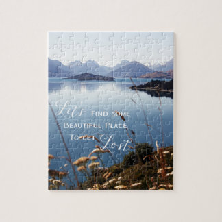 Let's Get Lost Jigsaw Puzzle