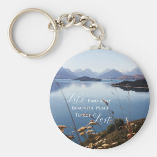 Let's Get Lost Keychain