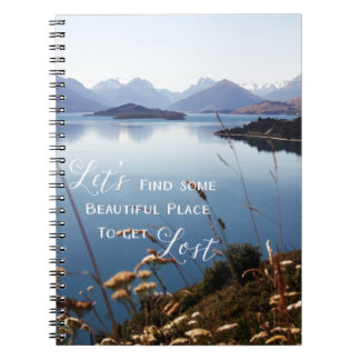 Let's Get Lost Notebook