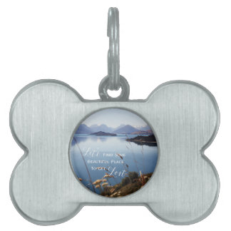 Let's Get Lost Pet Name Tag