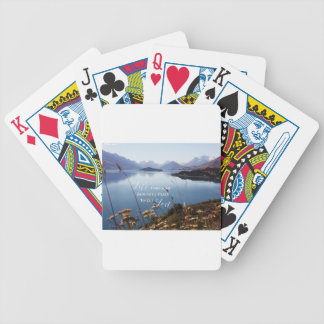 Let's Get Lost Bicycle Playing Cards