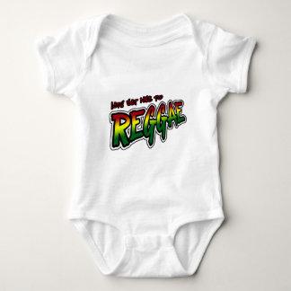 Lets get nice to REGGAE Dub Dubstep Reggae music Baby Bodysuit