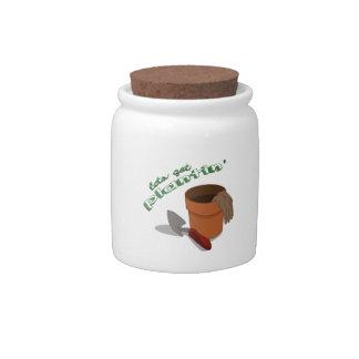 Lets Get Planting Candy Jars