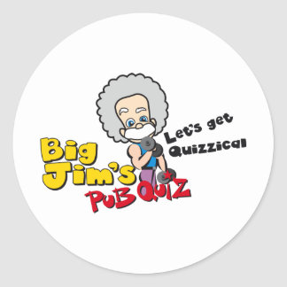 Lets get quizzical stickers