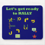 Let's Get Ready To Rally Mouse Mat