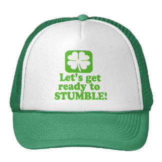 Lets Get Ready To Stumble Trucker Hat