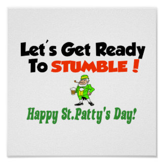 Let's get ready to stumble! poster
